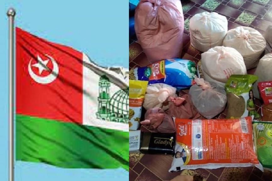 SYS Karappuram unit provided Eid Food Kit
