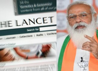 The Lancet Against to Narendra Modi