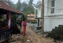 Demolished the 'Masjid wall' for sea wall construction