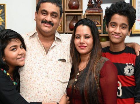 Badusha With family