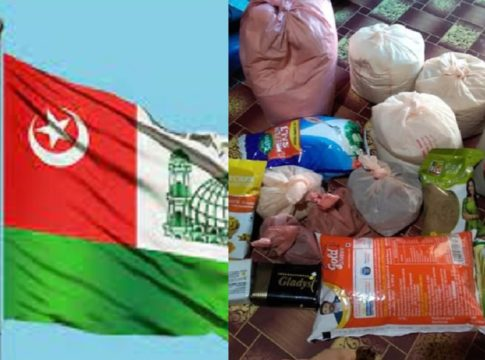 SYS Karappuram unit provided Eid Food Kit