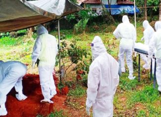 islamic funeral in covid pandemic_kerala
