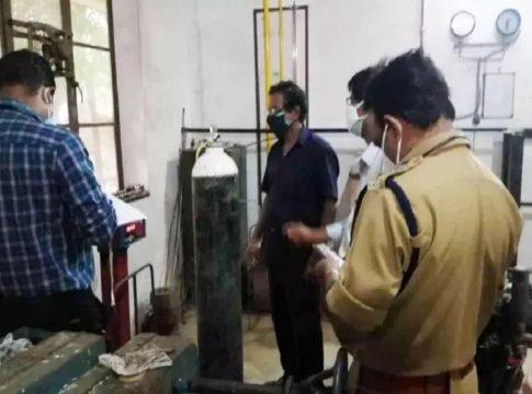 oxygen sylinder checking