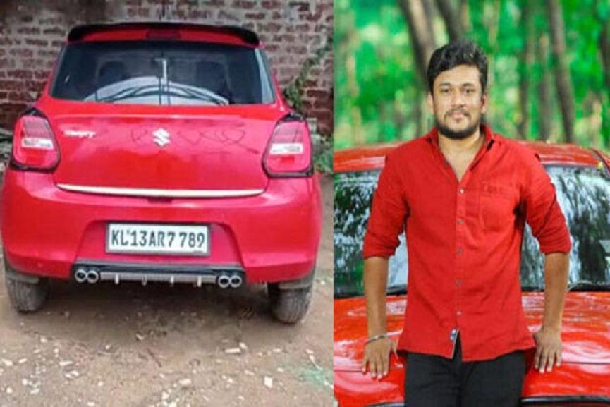 car of arjun ayanki to customs