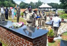 Funeral home for retired police dogs in Thrissur