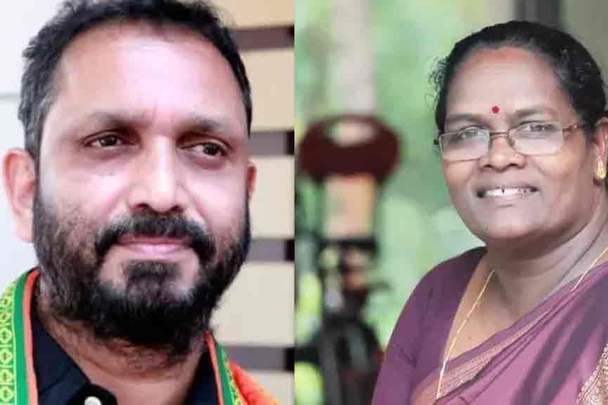 Praseetha released more evidence against Surendran
