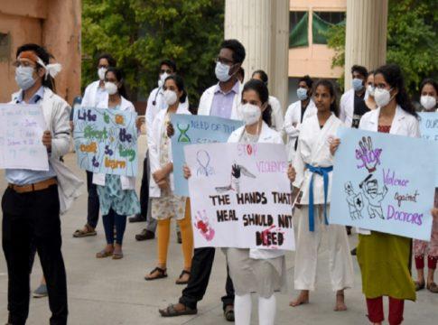 MalabarNews_doctors protest