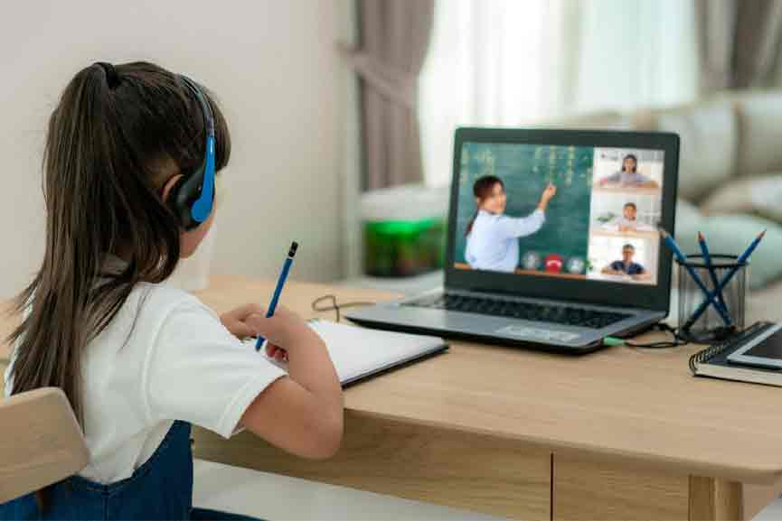 10 crore to improve online learning facilities; 2 lakh laptops for students