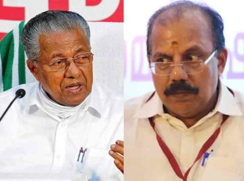 There have been threats before; Chief Minister's reply to AN Radhakrishnan