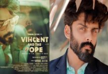 Roshan Basheer's vincent and the pope