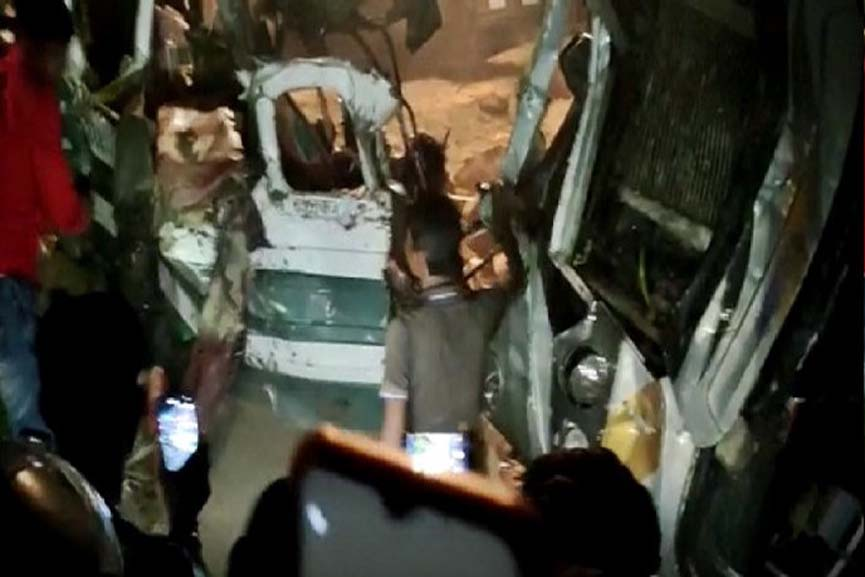 accident in Kanpur