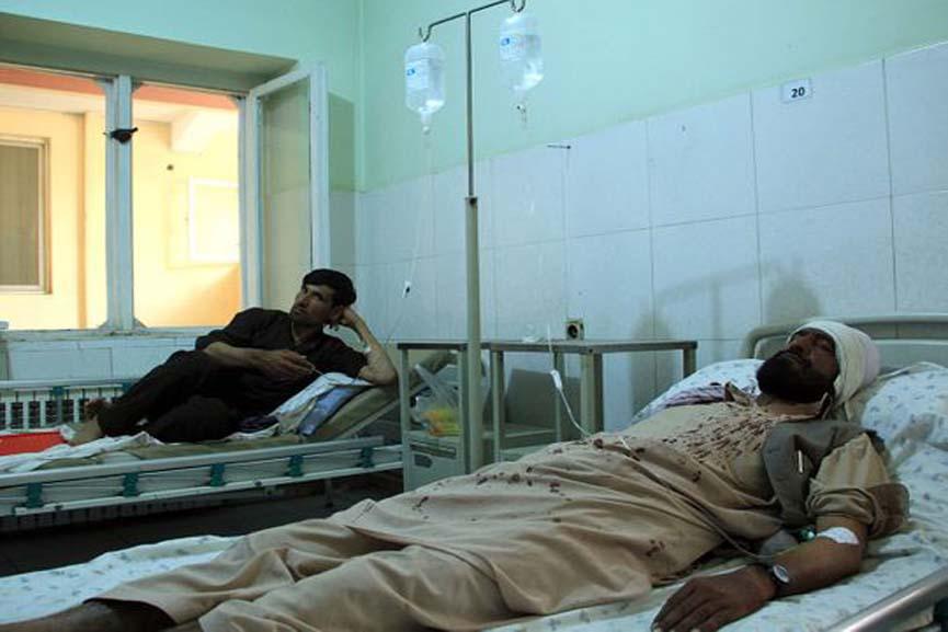 gun attack in Afghanistan