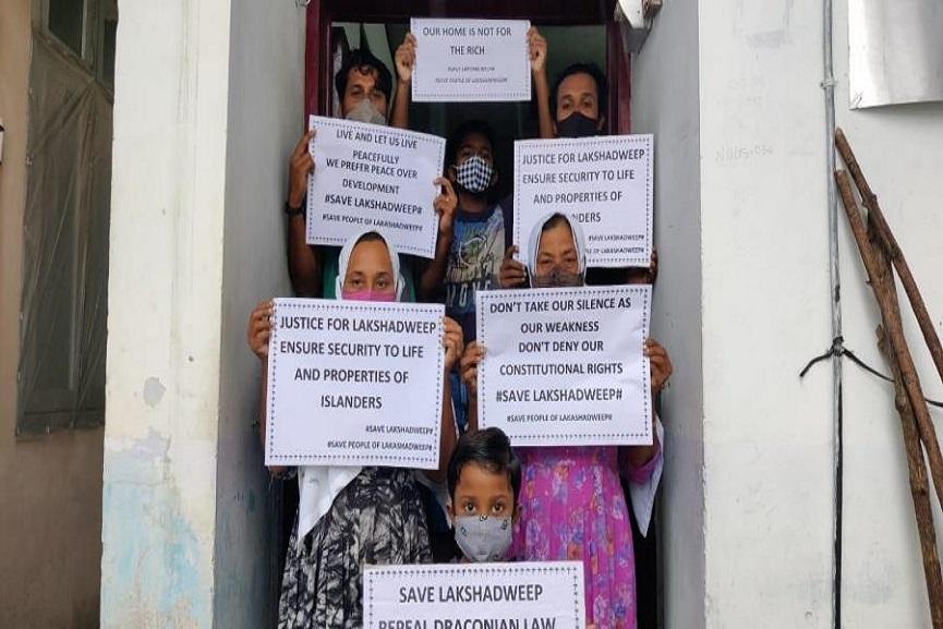 hunger strike_lakshadweep
