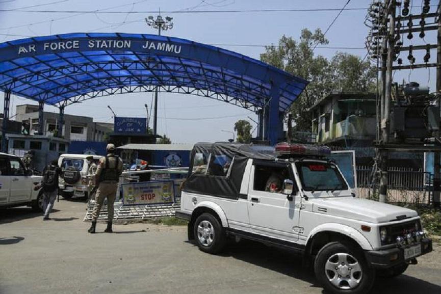 twin blast in Jammu