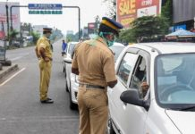 Changes in Restrictions in kerala