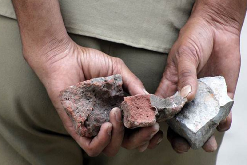 stone pelting
