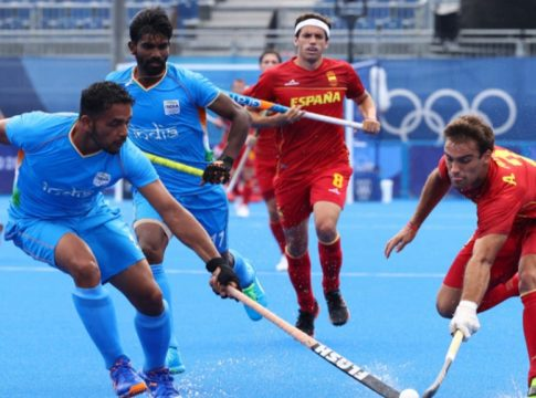 india-defeats spain in hockey