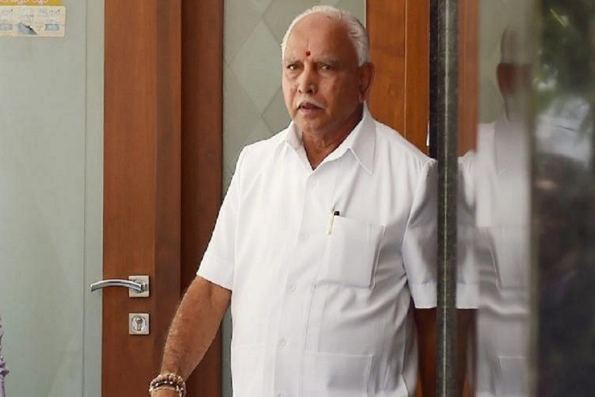 yediyurappa hints that CM post will be vacated