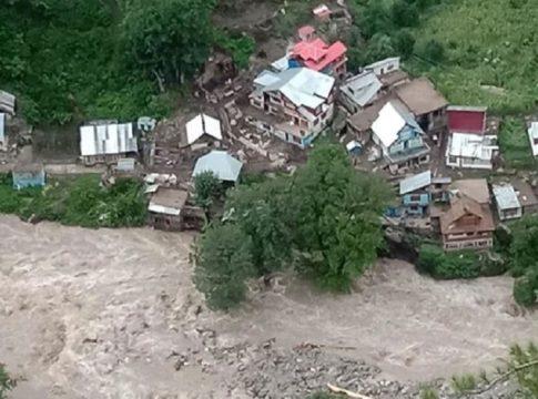 Cloudburst - Kashmir and Himachal