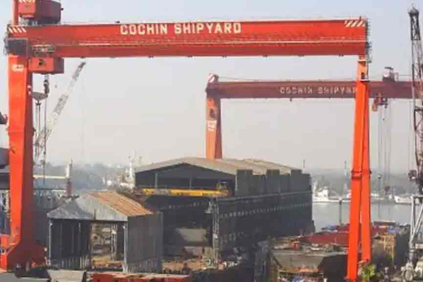 Major security breach at Cochin Shipyard