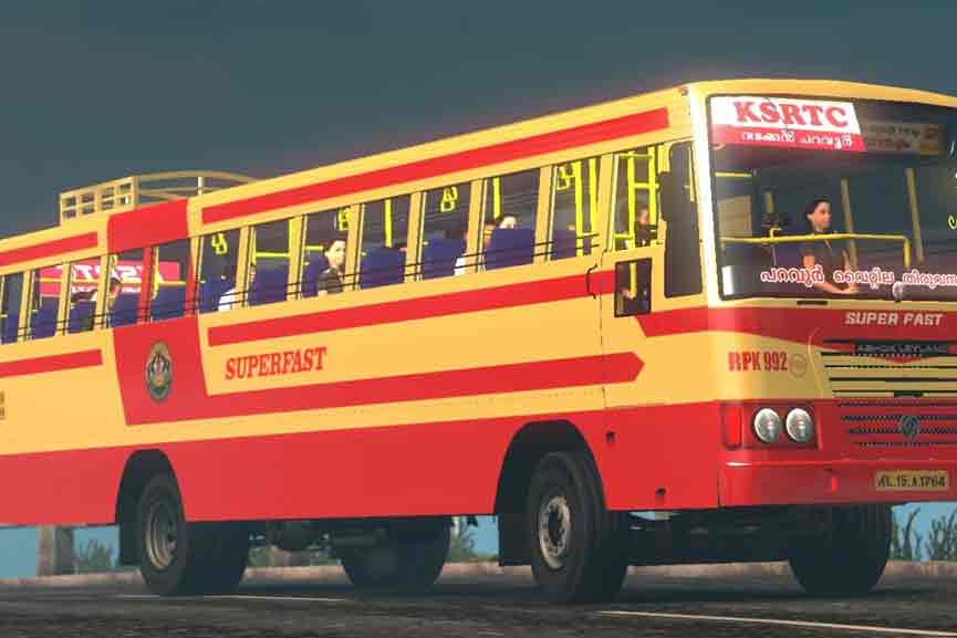 KSRTC Super Fast Bus