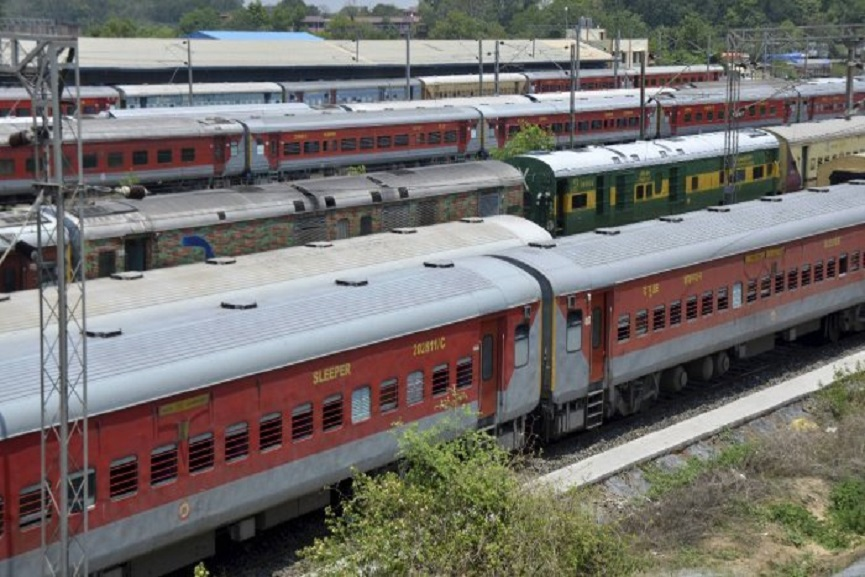 Another landslide in the Konkan region; The trains were diverted