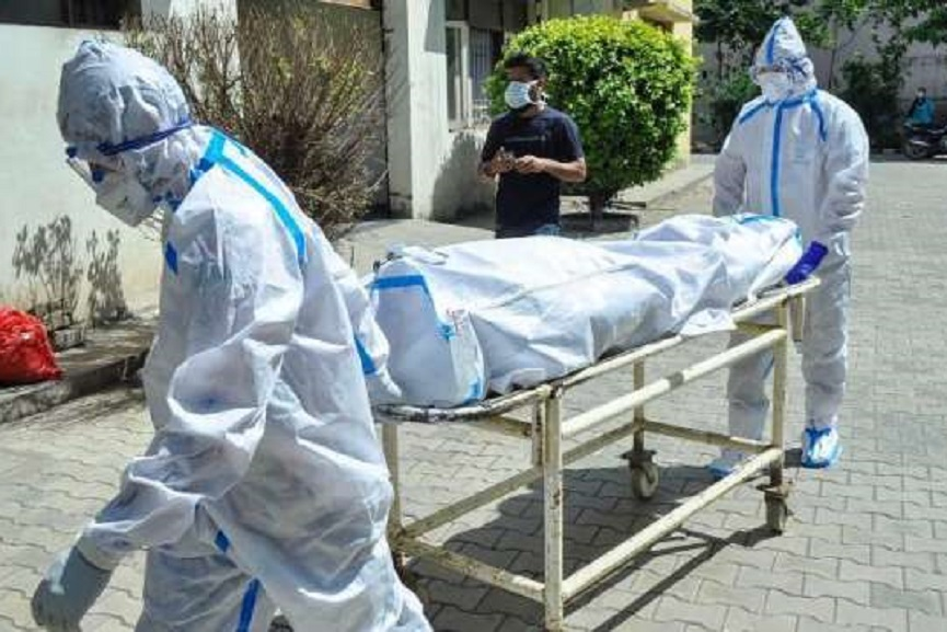 32-year-old Mukesh Covid was infected and died