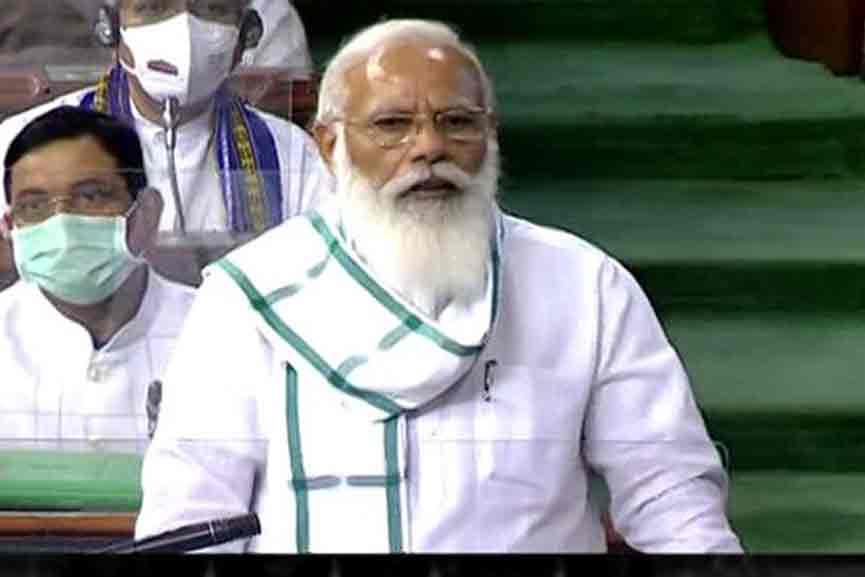 PM-Narendra-Modi in Parliament