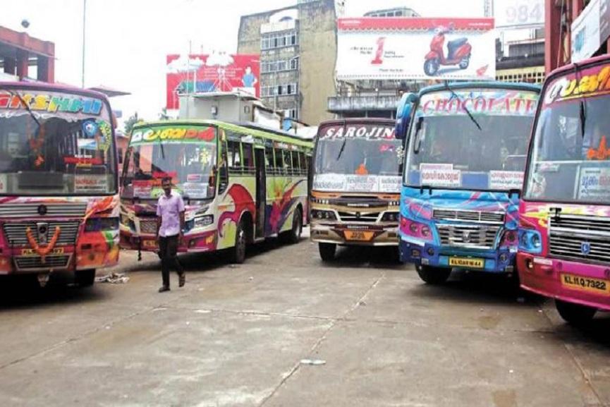 Private Bus In Kerala