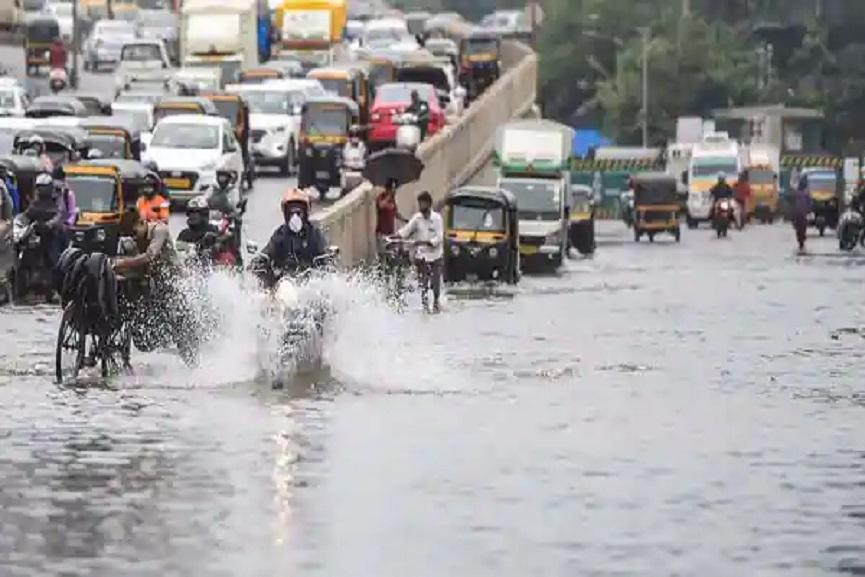 Heavy Rain In North India