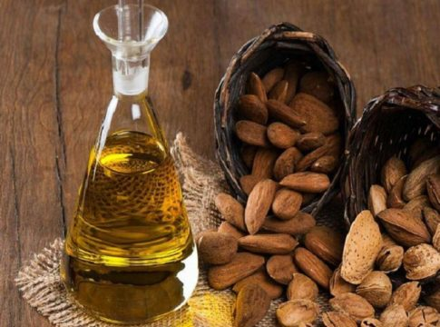 almond oil for skin and hair