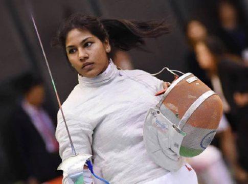 Bhavani Devi-fencing-Olympics