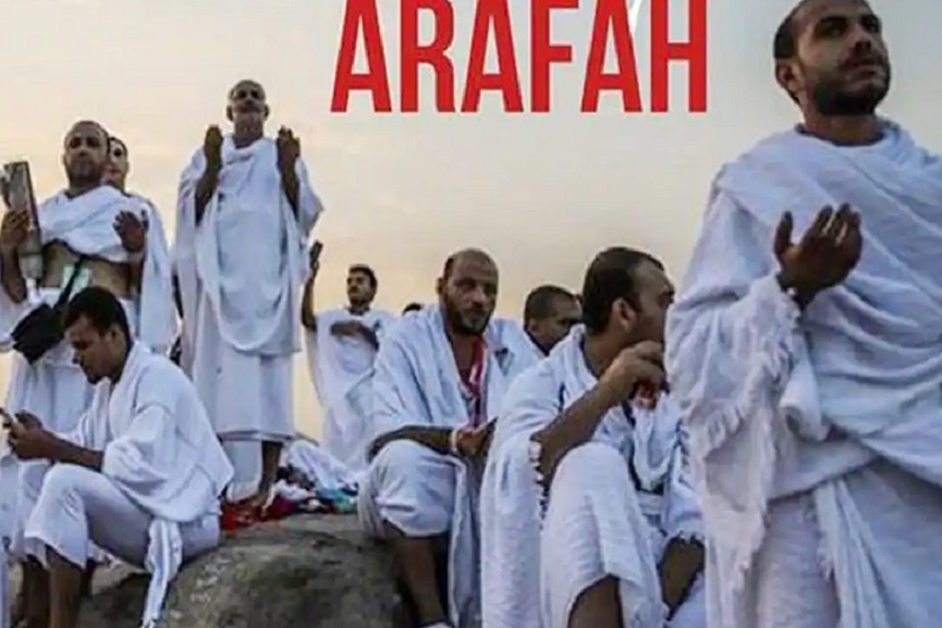 Ma'din 'Arafa Day Prayer Meeting' from 1 pm today