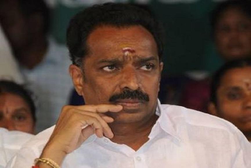 former Tamil Nadu minister MR Vijayabhaskar