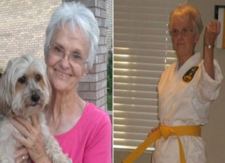 83-year-old woman becomes a fifth-degree karate BLACK BELT