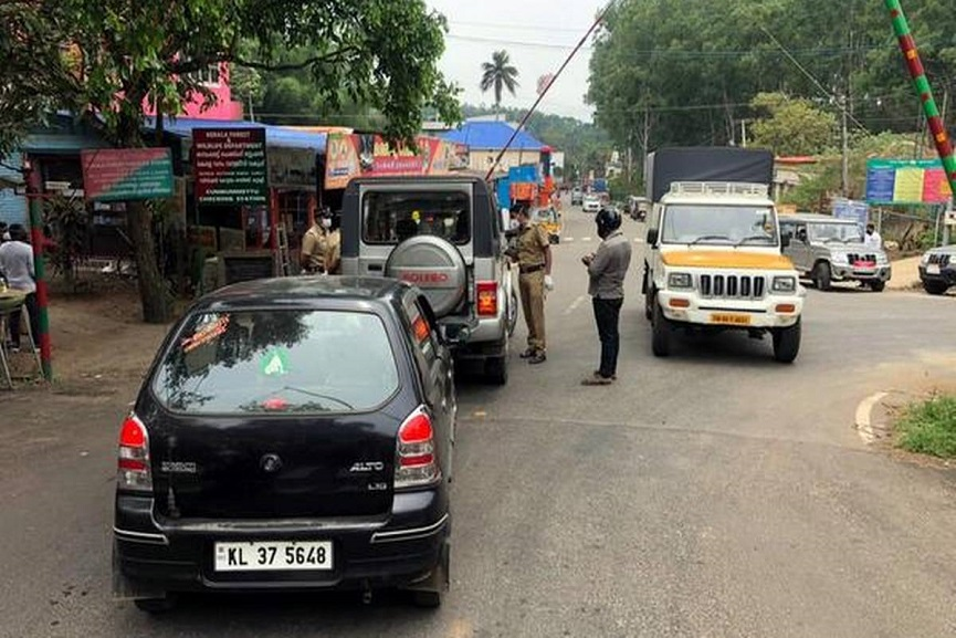 Kerala Tamil Nadu Border