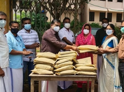 Onam Gift for the needy; KPSTA with care