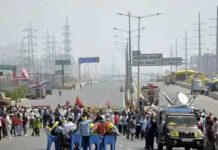 Bharat Bandh: Traffic movement from UP towards Ghazipur