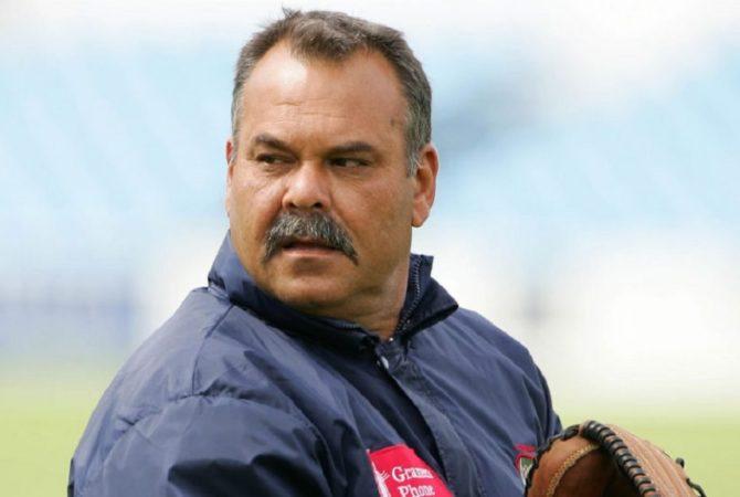 Dav Whatmore-head coach of the Baroda cricket team