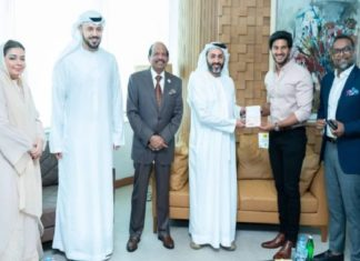 Dulquer salman-UAE Golden Visa