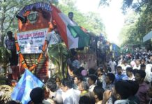 EK Sunni faction on Nilambur-Shoranur railway Issue