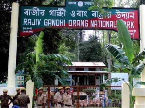drops Rajiv Gandhi's name from Orang National Park