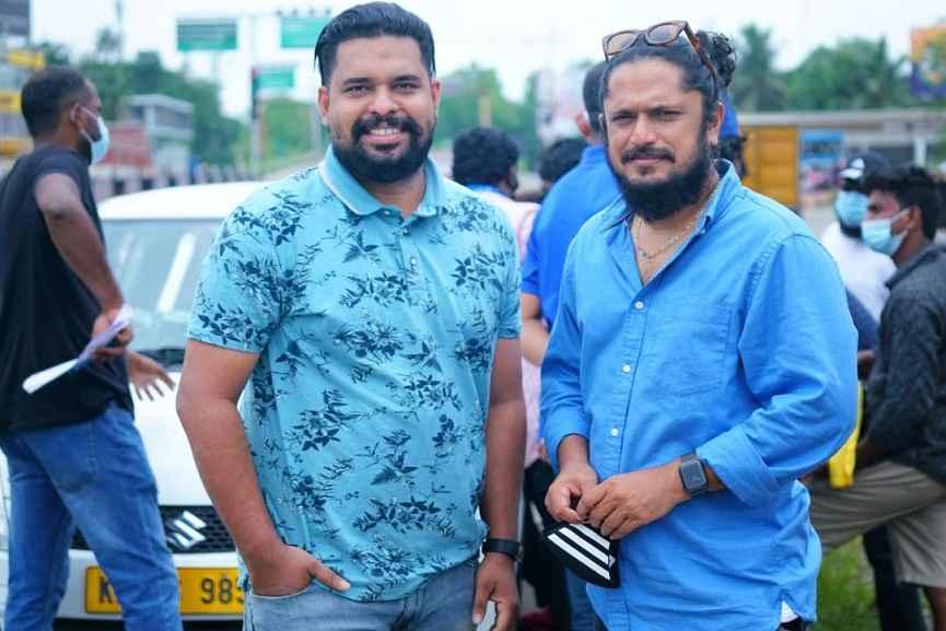 Rohit Usha Raj with Jomon T John