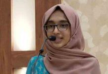 Haritha General Secretary Rumaisa Rafeeque Muslim League