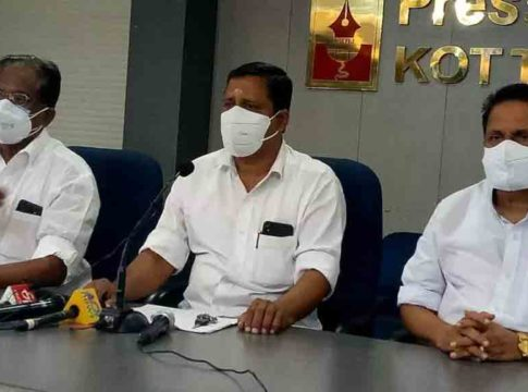 Santhosh-Kumar joined Kerala Congress M