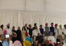 പഞ്ചാബിൽ 15 എംഎൽഎമാർ മന്ത്രിമാരായി സത്യപ്രതിജ്ഞ ചെയ്തു
