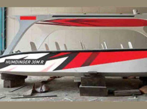 Fiber boat is coming to Valiyaparamba