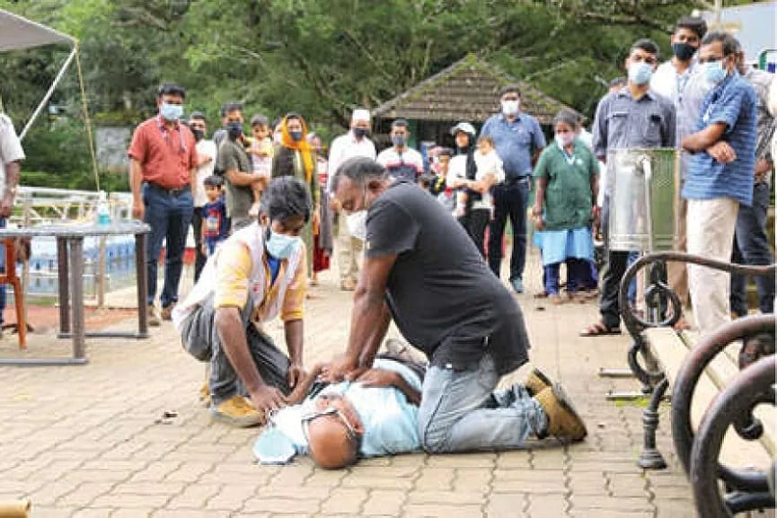 Disaster Management Team At Tourism Centers In Wayanad