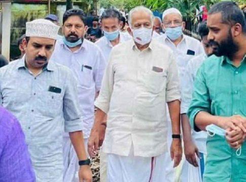ET Mohammed Basheer MP visited missing fisherman's families