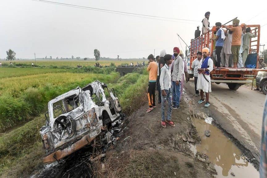 Police Recreate The Lakhimpur Kheri Crime Scene
